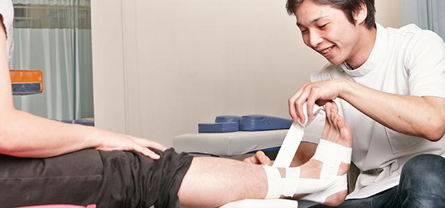外傷治療について